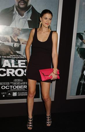 Lindsey Shaw - 'Alex Cross' LA premiere on October 15, 2012