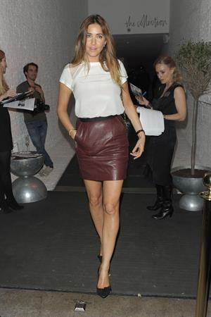 Lisa Snowdon  'Smallbones', London - September 26, 2012