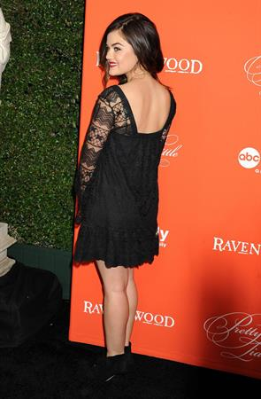 "Lucy Hale ""Pretty Little Liars"" Halloween Episode screening in Hollywood, October 15, 2013"