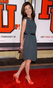Margo Harshman Fired Up Los Angeles Premiere, Feb 19, 2009