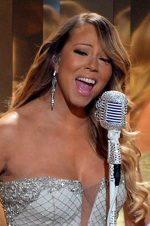 Mariah Carey BET Awards at Nokia Theatre in Los Angeles June 30, 2013