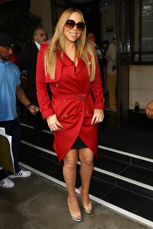 Mariah Carey - Arrives at The Dorchester hotel in London, June 25, 2012
