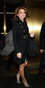 Maria Menounos at NBC Studios in New York 3/8/13