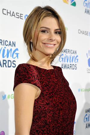 Maria Menounos  American Giving Awards at the Pasadena Civic Auditorium in Pasadena 12/7/12