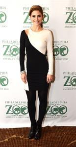 Maria Menounos Global Conservation Gala for the Philadelphia Zoo 11/1/12