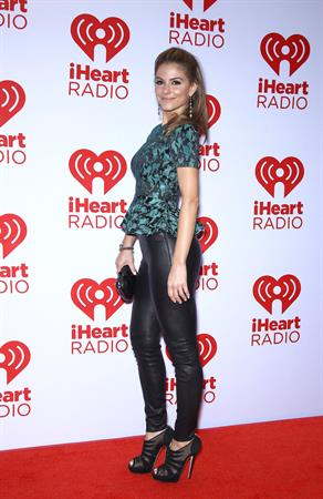 Maria Menounos IHeartRadio music fest(day 2) in Las Vegas on September 22, 2012