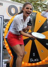 Maria Menounos - Promotes Bing at The Grove - September 13, 2012