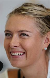 Maria Sharapova during a Press Conference of the Internazionali BNL d'Italia 2013 May 14, 2013