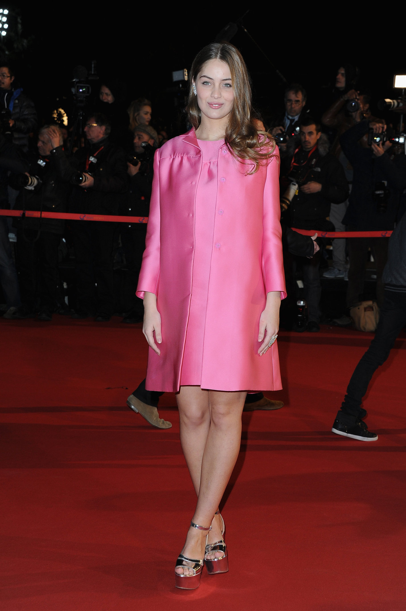 Marie Ange Casta 14th NRJ Music Awards in Cannes (Jan 26, 2013)