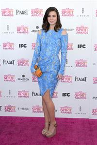Mary Elizabeth Winstead 2013 Film Independent Spirit Awards in Santa Monica 2/23/13