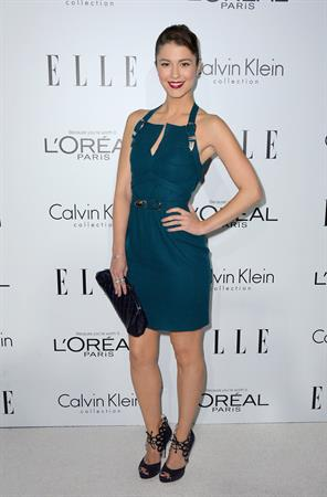 Mary Elizabeth Winstead 19th Annual ELLE Women In Hollywood Celebration, Oct 16, 2012