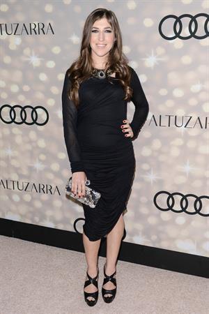Mayim Bialik Audi & Altuzarra Emmys Week 2013 Kick-Off Party Los Angeles, Sep. 15, 2013