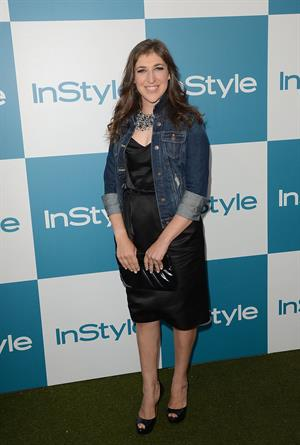 Mayim Bialik - 11th annual InStyle Summer Soiree, LA -on August 8, 2012