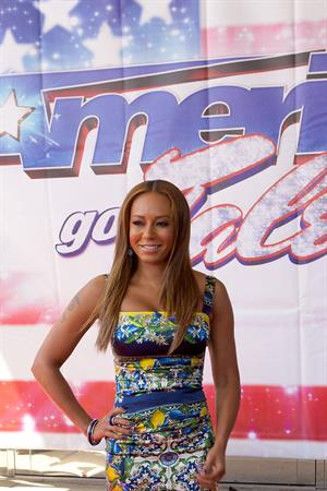 Melanie Brown 14 Attends American's Got Talent Season 8 Akoo Theatre Rosement Illinois 08.05.13