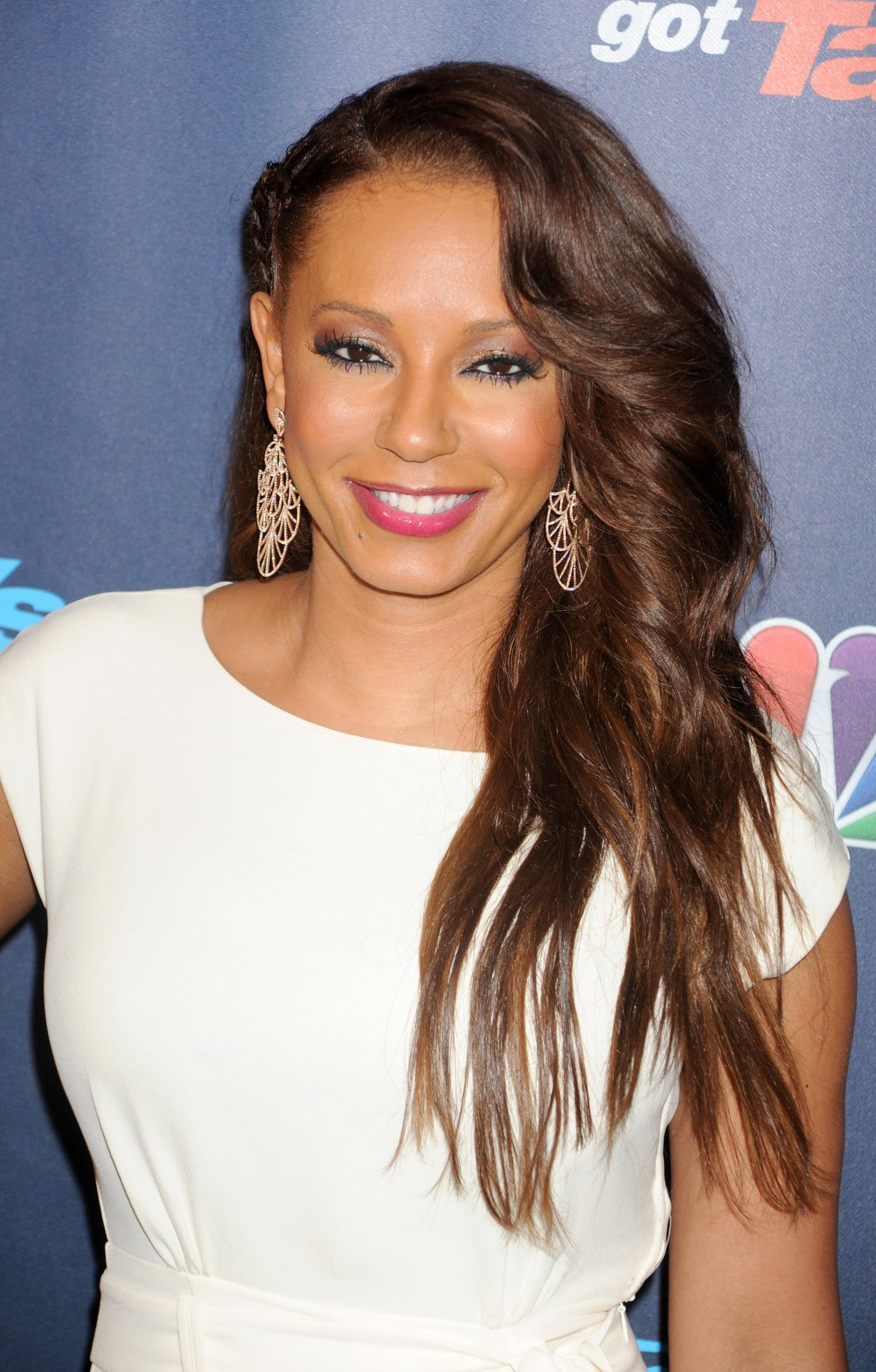Melanie Brown Americas Got Talent Post Show Red Carpet At Radio City Music Hall In -3815