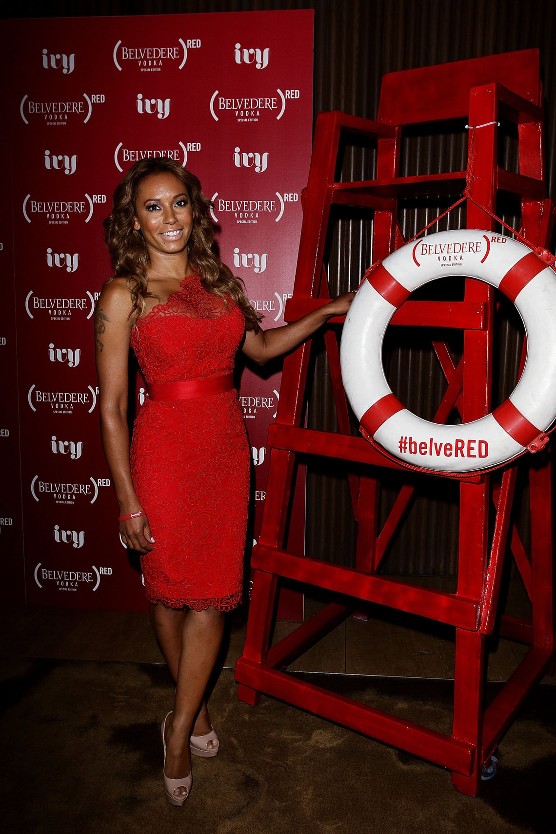 Melanie Brown Belevedere Red Launch At The Ivy Pool In Sidney 011212 85210-8592