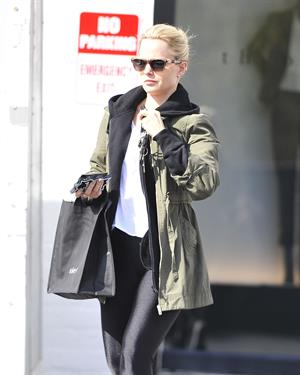 Mena Suvari - Out and about in Beverly Hills on February 21, 2013