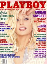Farrah Fawcett Nude Playboy December 1995