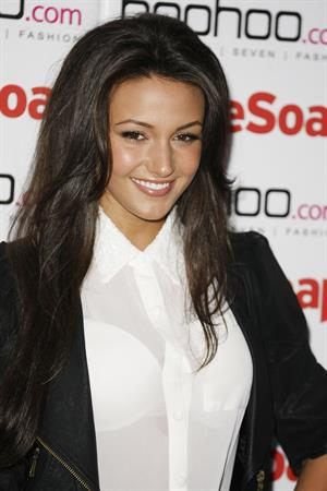 Michelle Keegan Soap Awards - Launch Party (July 9, 2012)