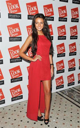 Michelle Keegan 2012 The Look Fashion Show in London October 6, 2012