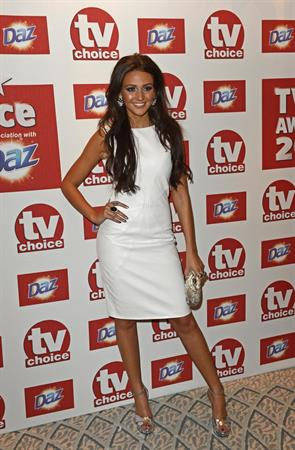 Michelle Keegan - TV Choice Awards in London - September 10, 2012