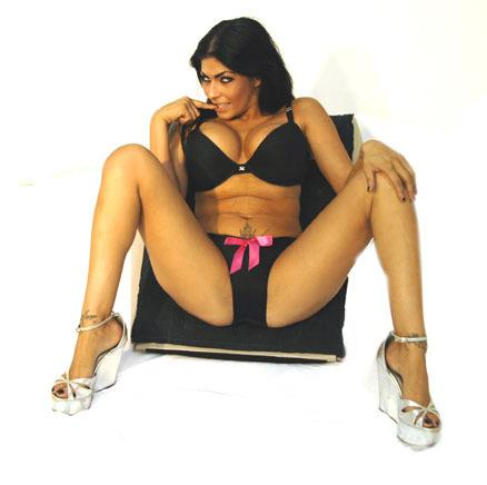 Shelly Martinez in lingerie