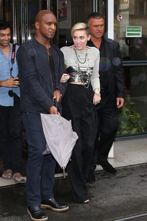Miley Cyrus in Paris 9/9/13
