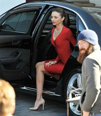 Miranda Kerr on the set of a Qantas Airways photoshoot in Beverly Hills 1/10/13