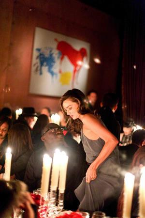 Miranda Kerr W Magazine's 40th Anniversary Dinner in NY 11/15/12