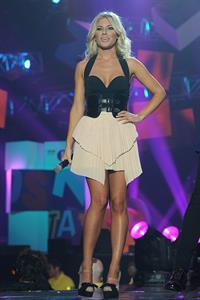 Mollie King 2011 BBC Teen Awards in London on October 9, 2011