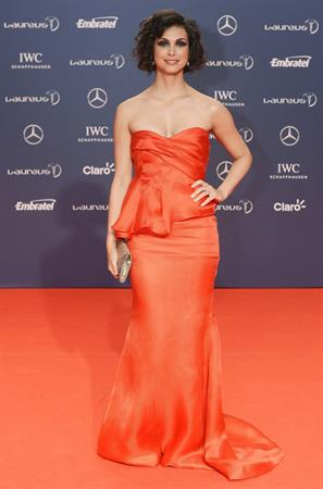 Morena Baccarin 2013 Laureus World Sports Awards in Rio, Brazil, March 11, 2013