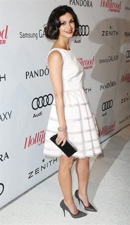 Morena Baccarin Attends the 2013 The Hollywood Reporter Nominees at Spago in Beverly Hills (04.02.2013)