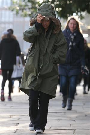 Myleene Klass London, March 13, 2013