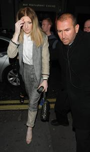 Nicola Roberts Cheryl Cole's Concert After Party - October 8, 2012
