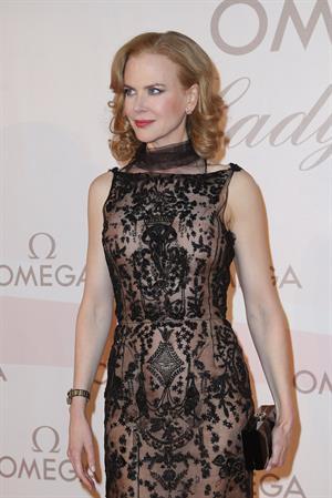 Nicole Kidman Omega Gala 'La Nuit Enchantee' in Vienna, Austria on Mar. 24, 2013