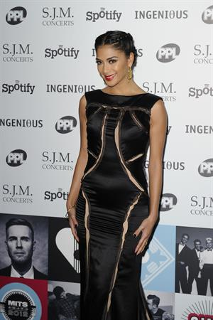 Nicole Scherzinger Music Industry Awards, London - November 5, 2012