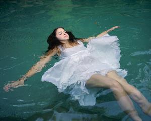 Nikki Reed nice & wet 2005 Elle Girl photoshoot by Gail Albert Halaban