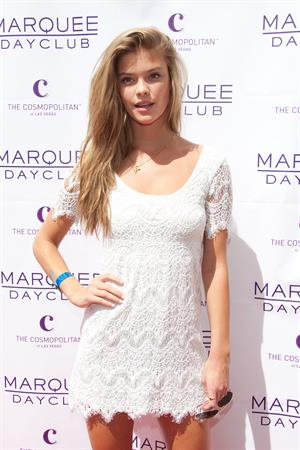 Nina Agdal - Season opening of the Marquee Dayclub in Las Vegas - April 6, 2013