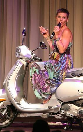 Alecia Moore (Pink) LA Gay Lesbian Centers an Evening With Women on May 1, 2010