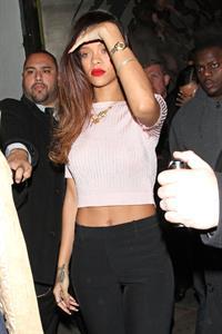 Rihanna at The Robury in Hollywood 1/10/13