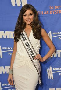 Olivia Culpo 16th Annual Muscular Dystrophy Association Muscle Team Gala (Jan 8, 2013)