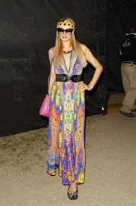 Paris Hilton 2013 Coachella Valley Music & Arts Festival in Indio 4/20/13