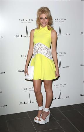 Pixie Lott Attending the View from The Shard Launch Party in London on January 31, 2013