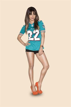 Priyanka Chopra 2012 NFL Season Photoshoot