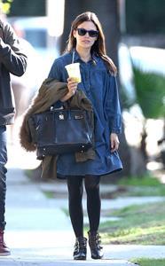Rachel Bilson out for lunch in Sherman Oaks 1/25/13