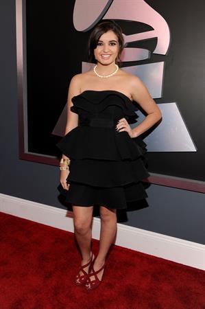 Rebecca Black 54th annual Grammy awards LA 2/12/12