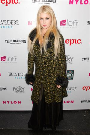 Renee Olstead - NYLON Magazine Music Issue Launch Party in West Hollywood (May 30, 2012)