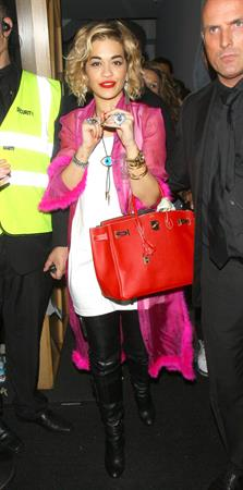 Rita Ora at DSTRKT Club in London on August 10, 2012