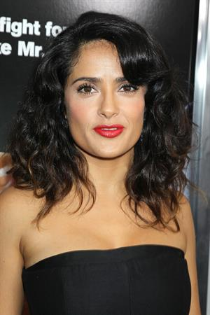 Salma Hayek - At AMC Loews Lincoln Square October 9, 2012