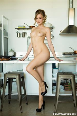Olivia Preston strips naked for Playboy Plus